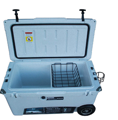 MILEE Heavy duty Wheeled 70QT Cooler review