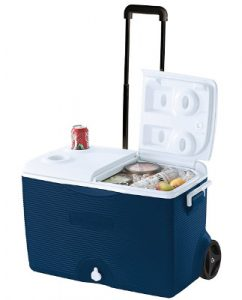 Rubbermaid 60 Quart Wheeled Ice Chest Review