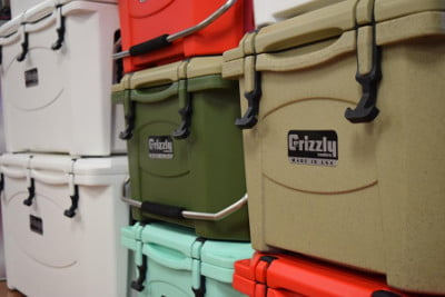 Grizzly Coolers - Color Options