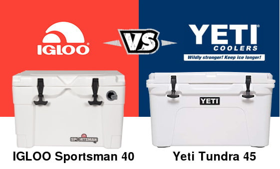 Igloo Sportsman Vs Yeti Tundra