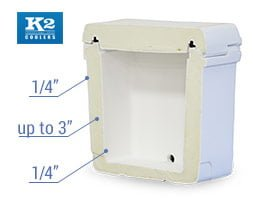 K2 Cooler Build quality