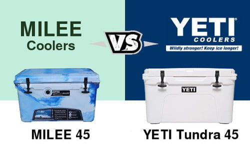 Milee Vs Yeti Cooler