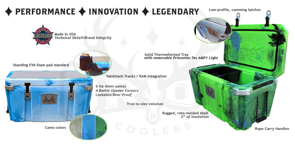 Orion Coolers  - Features