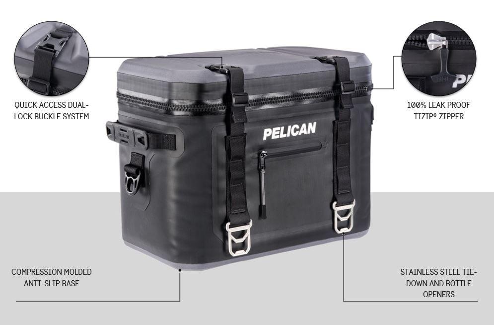 Pelican soft cooler - features