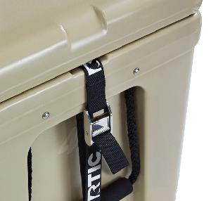 RTIC Cooler - Molded Tie-down Slots