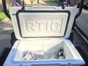 rtic cooler ice retention