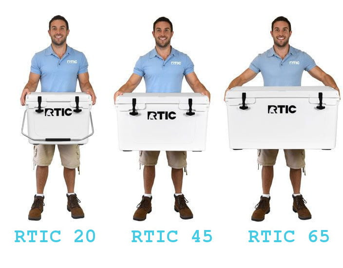 RTIC cooler sizes