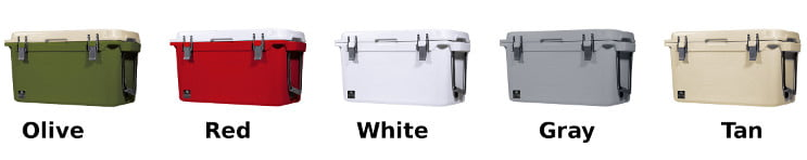 Bison Coolers - Color Options