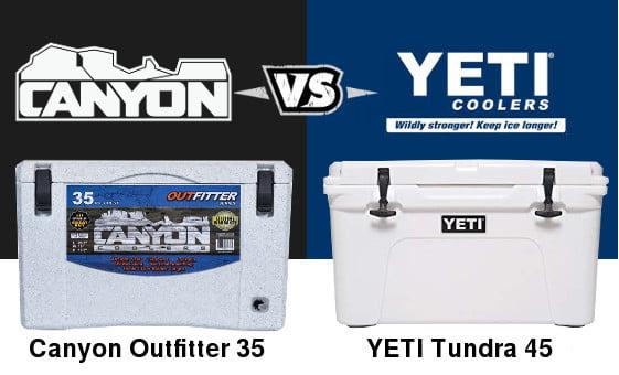 Canyon Coolers Vs Yeti