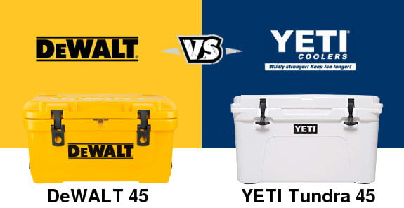 DeWALT Cooler Vs YETI