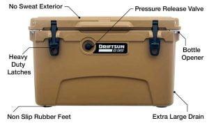 Driftsun Cooler - Features