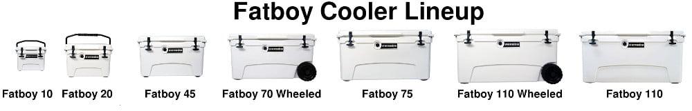 Fatboy Cooler lineup