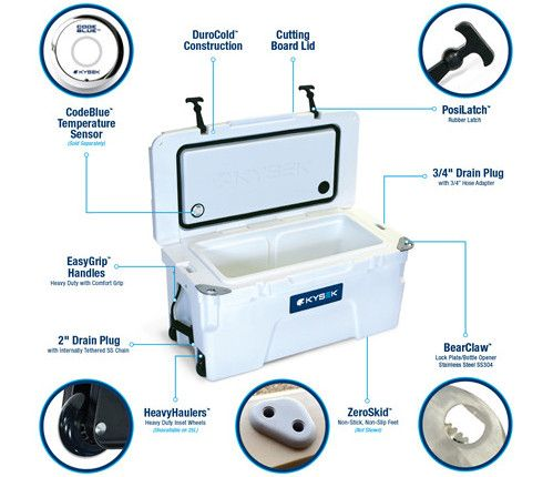 Kysek Cooler - Features