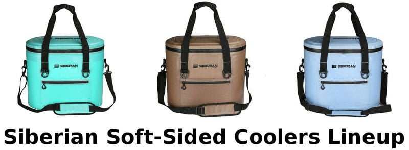 Siberian Sidekick soft-sided coolers