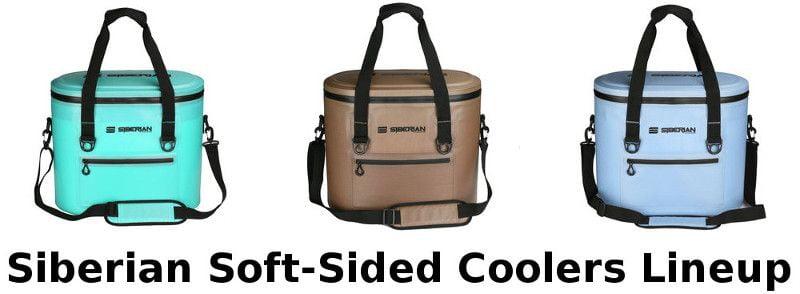 Siberian Sidekick soft-sided coolers