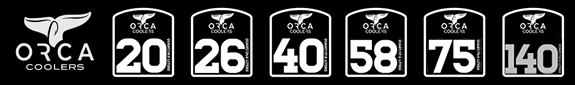 ORCA Coolers Sizes