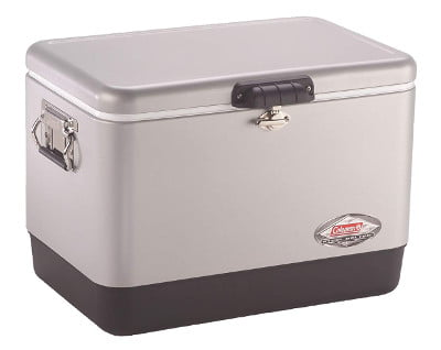 Coleman Steel Belted 54 Quart Cooler Review – Coolers World