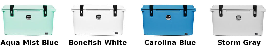 ICON Coolers - Color Options