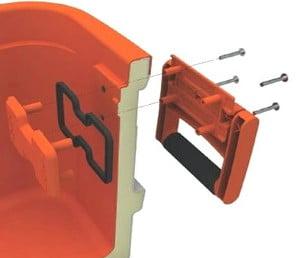 IGLOO Super Tough STX cooler - Handles