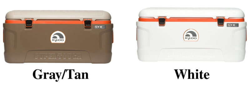 Igloo Super Tough STX Coolers - Colors