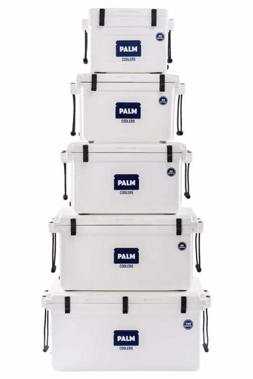 Palm Coolers - Available Sizes