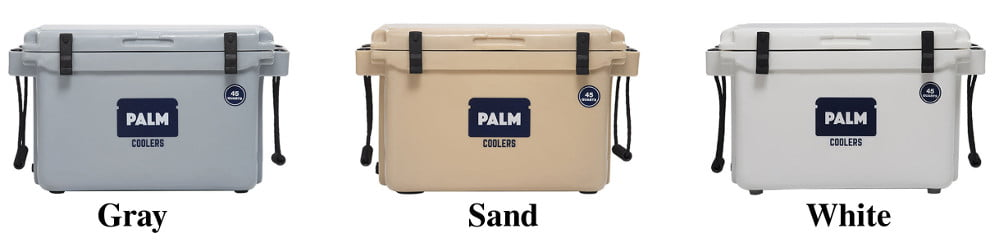 Palm Coolers - Colors