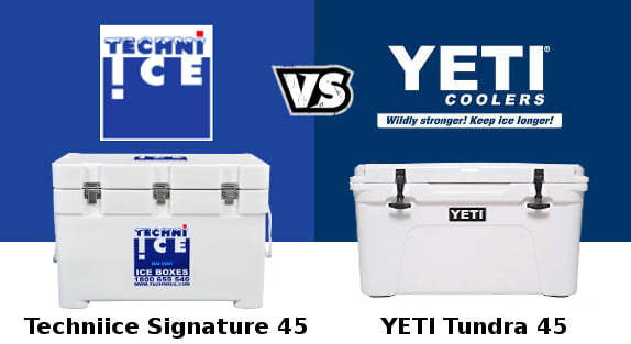Techni Ice Vs YETI coolers