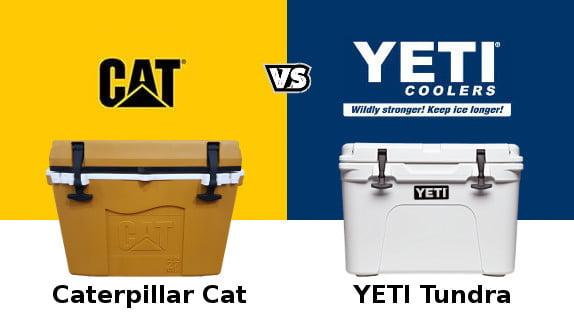 Caterpillar Cat Cooler Vs YETI
