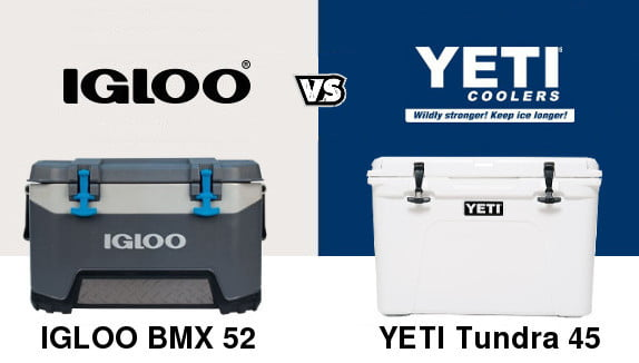 Igloo BMX Vs Yeti Tundra