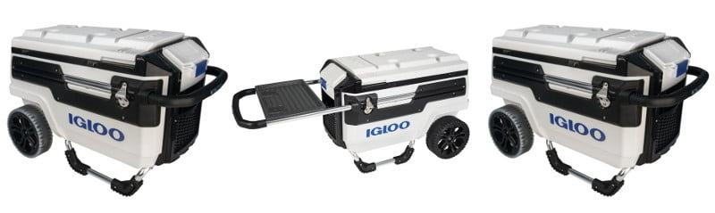 Igloo Trailmate All-Terrain Cooler - Design