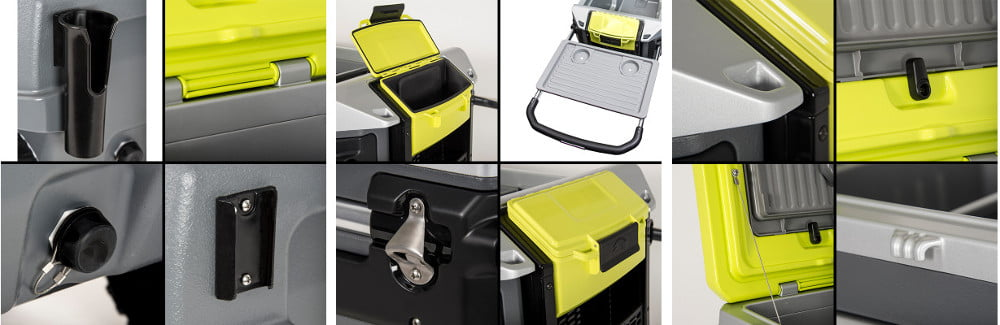 Igloo Trailmate Cooler review - Features