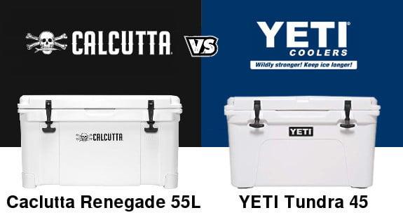 Calcutta cooler vs yeti