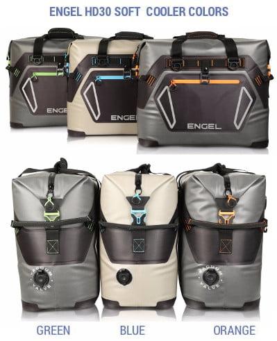 Engel HD30 Soft Cooler - Colors