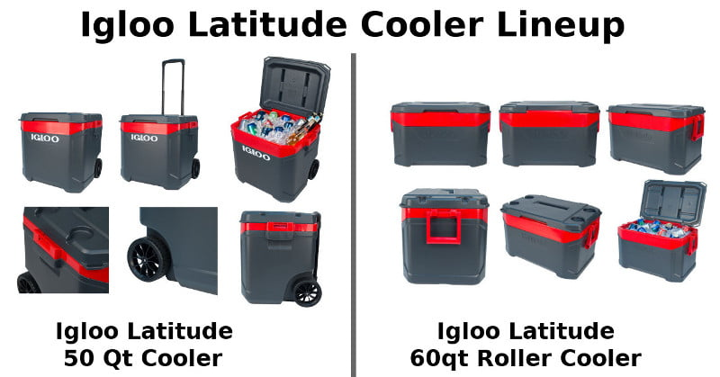 Igloo Latitude Cooler Lineup