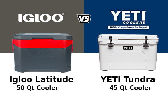 Igloo Latitude Vs Yeti Tundra