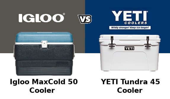 Igloo MaxCold Vs Yeti Tundra