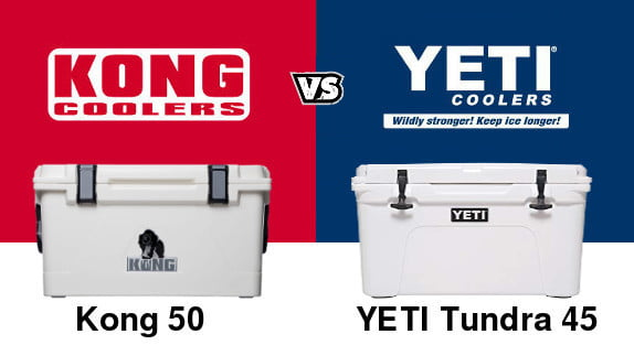 Kong vs YETI coolers