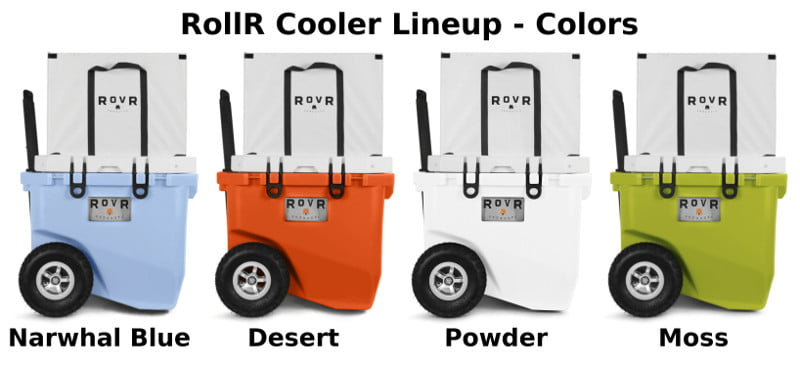 RollR Coolers - Colors