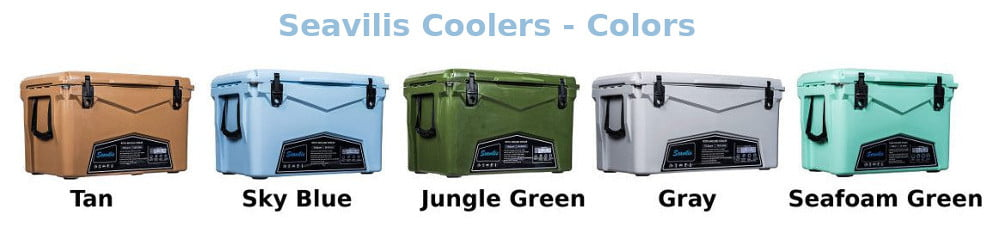Seavilis Cooler Review - Colors