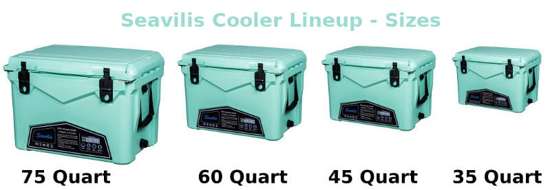 Seavilis Coolers - Available Sizes