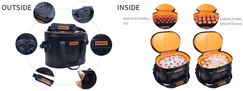 TOURIT Soft Cooler - Design