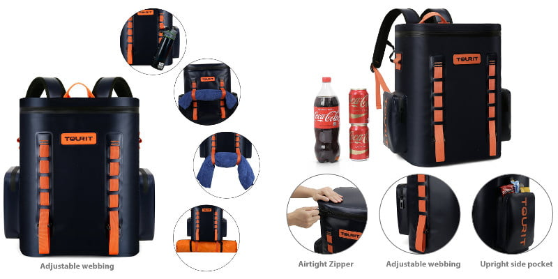 TOURIT VOYAGER Backpack Cooler - Features