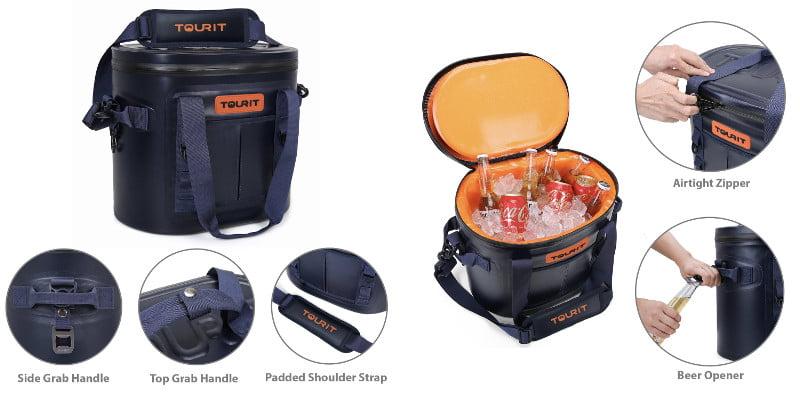 TOURIT VOYAGER Soft Cooler - Features