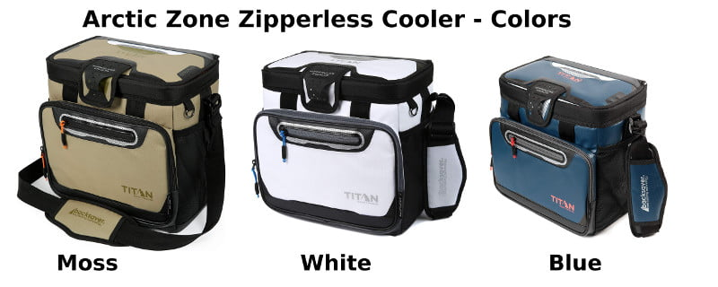 Arctic Zone Zipperless Coolers - Colors