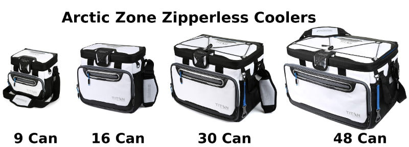 Arctic Zone Zipperless Coolers