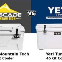 Cascade Mountain Tech Cooler Vs Yeti