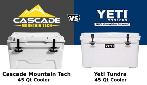 Cascade Mountain Tech Cooler Vs Yeti