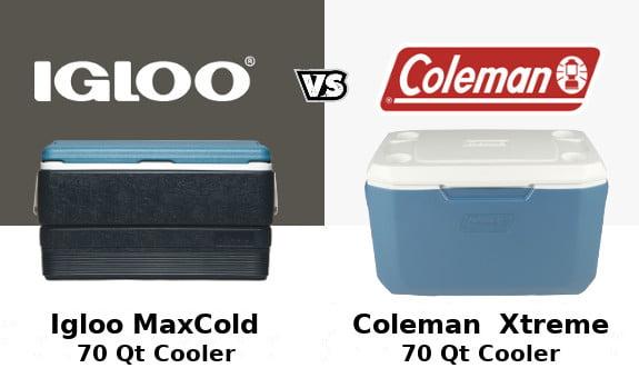 Coleman Xtreme Vs Igloo Maxcold