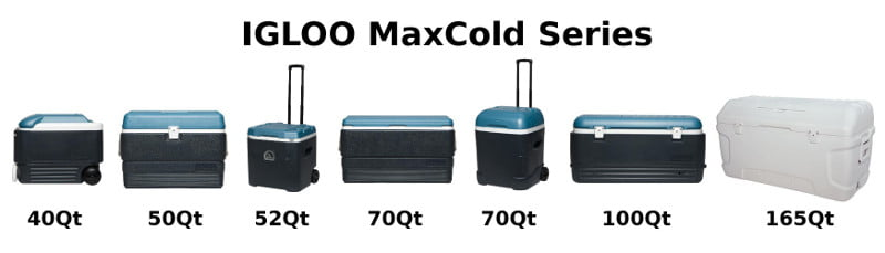 Igloo MaxCold Cooler Lineup