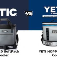 RTIC Softpack Vs YETI Hopper Flip